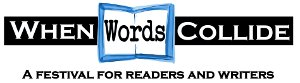 When Words Collide: A festival for readers and writers logo