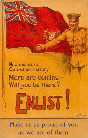 WWI Enlistment Poster