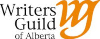 Logo and link to Writers Guild of Alberta
